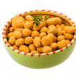 Stock Photo: Crispy peanut