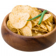 Potato chips — Stock Photo #41610635