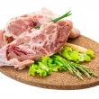 Raw lamb — Photo #41611383