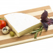 Gourmet Brie Cheese — Stock Photo