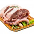 Raw lamb — Stockfoto #41675695