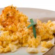 图库照片: Scrambled eggs