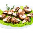 Stock Photo: Escargot