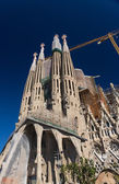 La Sagrada Familia - the impressive cathedral — Stock Photo