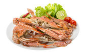 Boiled blue crab — Stock Photo