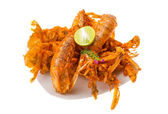 Grilled crawdads — Stock Photo