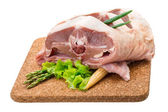 Raw lamb — Stock Photo