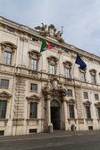 Rome, the Consulta building in Quirinale square. — Stock Photo