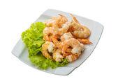 Shrimps cocktail — Stock Photo