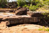 Waterfall in Cambodia — Stock fotografie