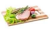 Raw t-bone steak — Stock Photo