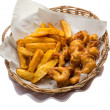 Seafood basket — Stock Photo