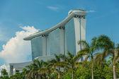 марина бэй сэндс интегрированного курорта — Стоковое фото