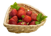 Ripe strawberry — Stock Photo