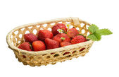 Ripe strawberries — Stockfoto