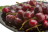 Sweet ripe cherry — Stockfoto