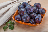 Ripe fresh plum — Стоковое фото