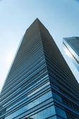 Buildings in Singapore skyline — Stock Photo