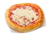 Pizza with tomato and cheese — 图库照片