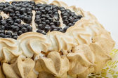 Blueberry cake — Stock Photo