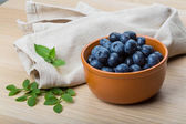 Fresh blueberries — Fotografia Stock
