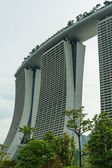 Singapore - 11 mei: marina bay sands resort geïntegreerd op 11 mei — Stockfoto