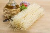 Rice noodle — Stock Photo