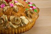 Karavay - Russian traditional bread — Stock Photo