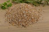 Crusted Pearl Barley — Stock Photo