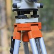 Optical level on a tripod — Stock Photo