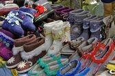 Felt boots — Stock Photo