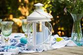 Candle lantern — Stock Photo