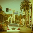 Hollywood boulevard - Stock Photo