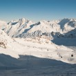 Winter landscape in Alps — Stock Photo #1542572