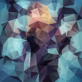 Abstract polygonal background. — Stock Photo