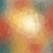 Abstract polygonal background. — Stockfoto