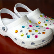 Stock Photo: Plastic clogs