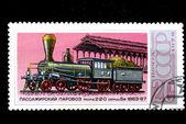 Locomotive type 2-2-0 series Bv 1863-67 — Stock Photo