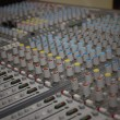 Mixer console - Stock Photo
