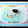 UMM-AL-QIWAIN: A stamp printed in UMM-AL-QIWAIN shows SEA FISH, - Zdjcie stockowe