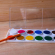 Set of watercolor — Stock Photo