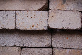 Masonry without cement — Stock Photo