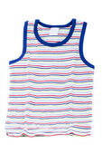 Children stripped tank top — Stock Photo