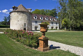 Parco del vecchio castello francese. — Foto Stock
