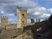 Ruins of old fortress. — Stock Photo
