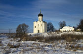 Church of the Intercession on the Nerl, Russia. — Stock Photo