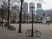 Square in The Hague, Netherlands. — Stock Photo