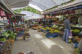 クリミア半島の小さい市場. — ストック写真