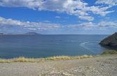 Beautiful seascape on a sunny day. — Stock Photo