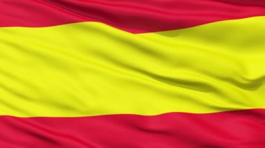 Waving Flag of Spain — Stock Video